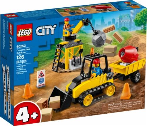 60252 LEGO® City Construction Bulldozer Perspective: front