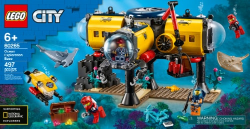LEGO® 60265 Ocean Exploration Base Perspective: front
