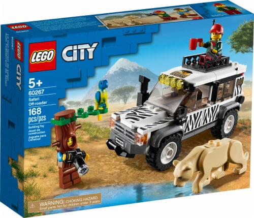 60267 LEGO® City Safari Off-Roader Perspective: front