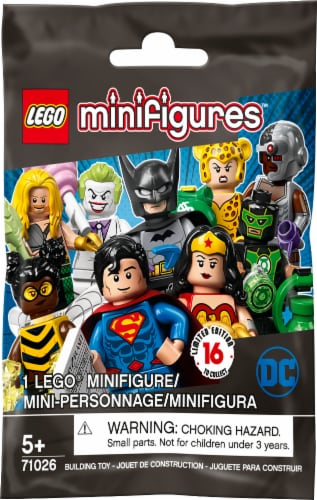 LEGO® Minifigures DC Super Heroes Series Blind Bag Perspective: front