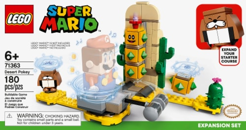 71363 LEGO® Super Mario Desert Pokey Expansion Set Perspective: front