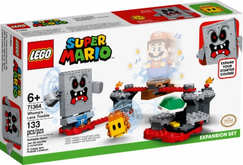 LEGO® Super Mario Whomp's Lava Trouble Building Toy Perspective: front