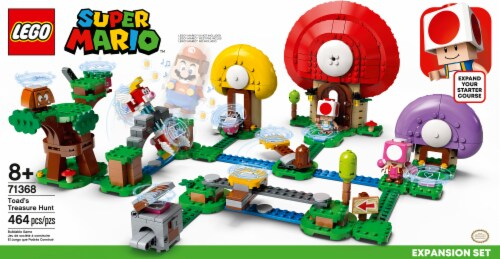 71368 LEGO® Super Mario Toad's Treasure Hunt Expansion Set Perspective: front