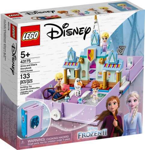 LEGO® Disney Anna and Elsa's Storybook Adventure Set Perspective: front