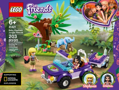 41421 LEGO® Friends Baby Elephant Jungle Rescue Perspective: front