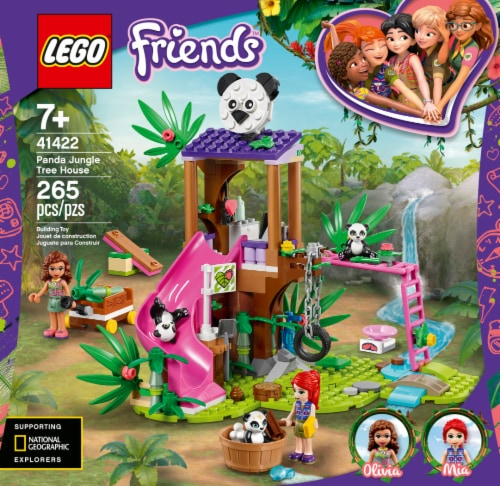 41422 LEGO® Panda Jungle Tree House Perspective: front