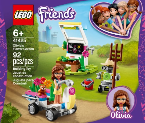 LEGO® Olivia's Flower Garden Building Toy Perspective: front