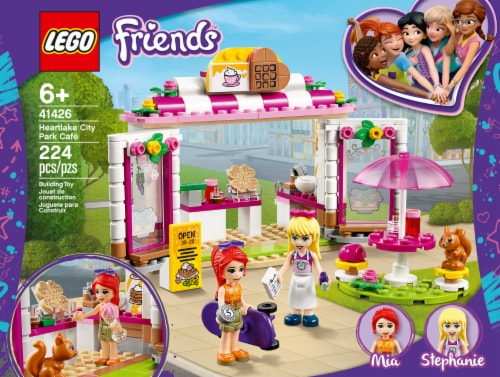 41426 LEGO® Friends Heartlake City Park Cafe Perspective: front
