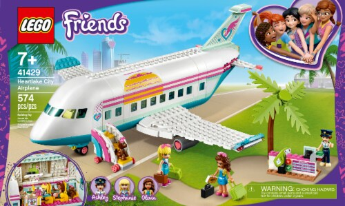 LEGO® Friends Heartlake City Airplane Set Perspective: front