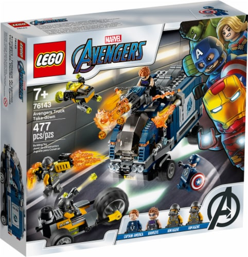76143 LEGO® Marvel Avengers Avengers Truck Take-down Perspective: front