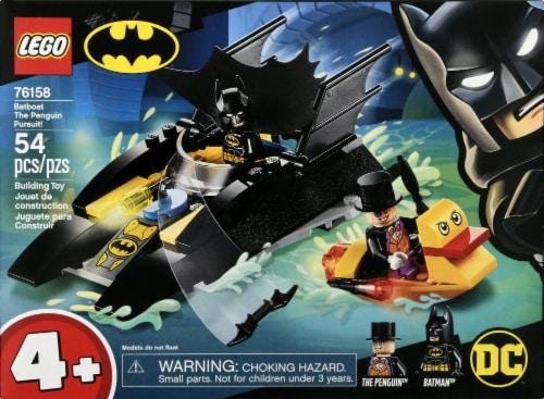 76158 LEGO® Super Heroes Batman Batboat The Penguin Pursuit! Perspective: front