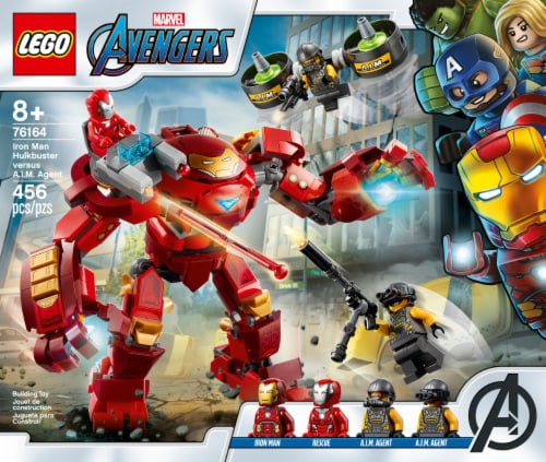 76164 LEGO® Marvel Avengers Iron Man Hulkbuster Versus A.I.M. Agent Perspective: front