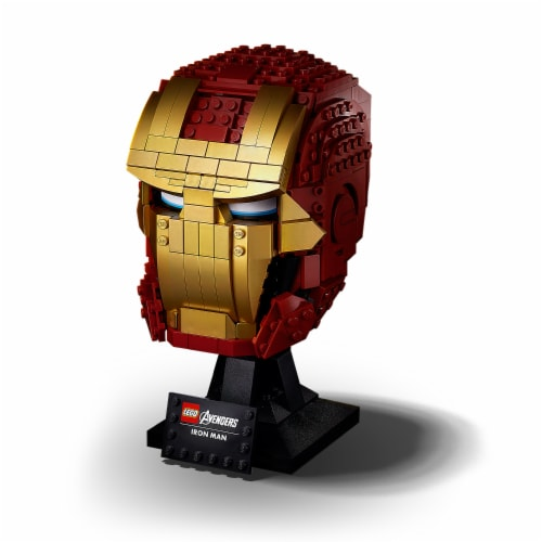 76165 LEGO® Avengers Iron Man Helmet Collectible Perspective: front