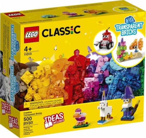 11013 Lego® Classic Creative Transparent Bricks Perspective: front