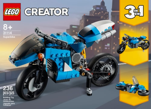 LEGO® Creator Superbike Perspective: front