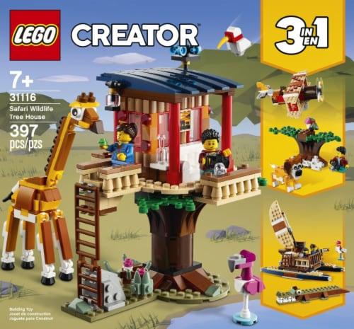 31116 LEGO® Creator Safari Wildlife Tree House Perspective: front