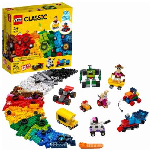 11014 LEGO® Classic Bricks and Wheels Perspective: front