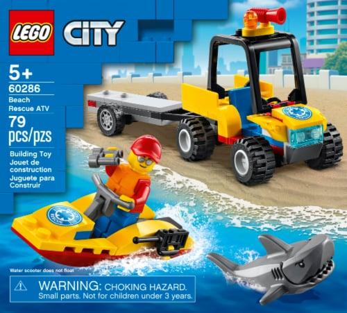 60286 LEGO® City Beach Rescue ATV Perspective: front