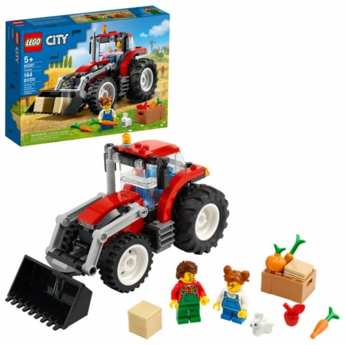 60287 LEGO® City Tractor Perspective: front