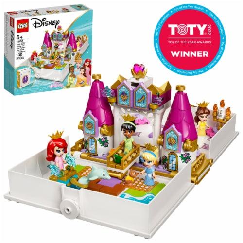 43193 LEGO® Disney Ariel Belle Cinderella and Tiana's Storybook Adventures Perspective: front