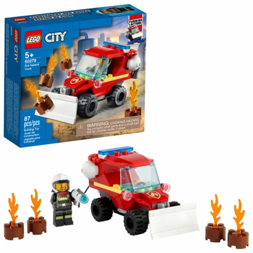 60279 LEGO® City Fire Hazard Truck Building Toy Perspective: front