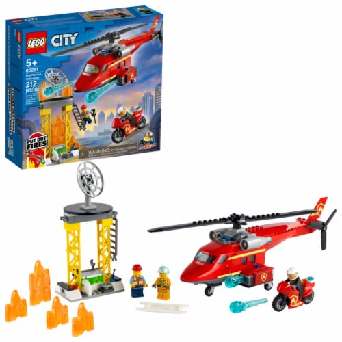 60281 LEGO® City Fire Rescue Helicopter Perspective: front