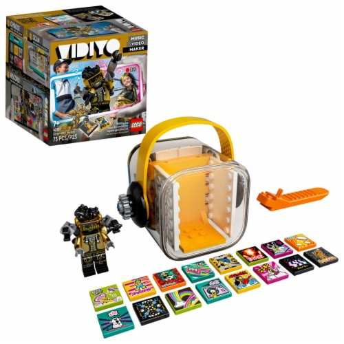 LEGO® VIDIYO Hiphop Robot Beatbox Building Toy Perspective: front