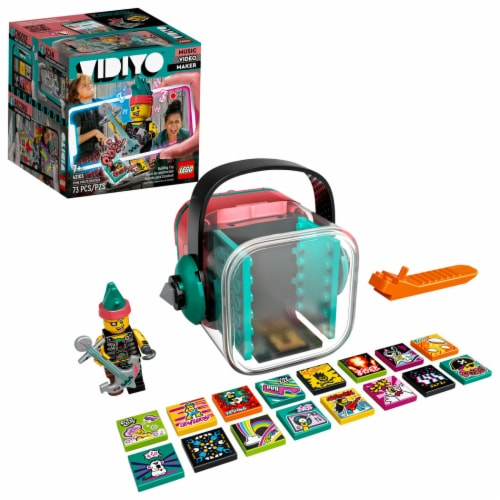 LEGO® VIDIYO Punk Pirate Beatbox Building Toy Perspective: front