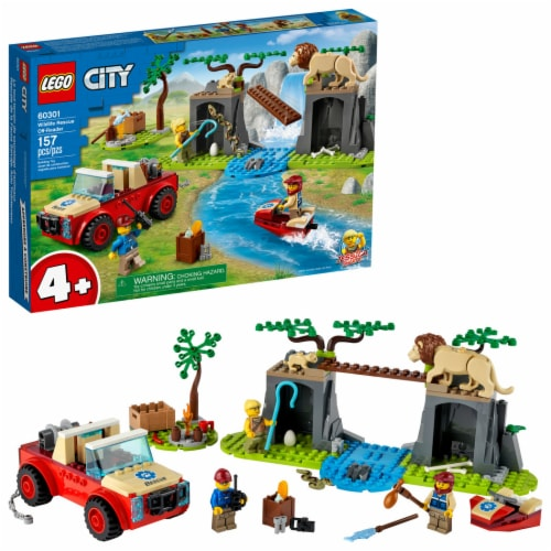 60301 LEGO® Wildlife Rescue Off-Roader Perspective: front