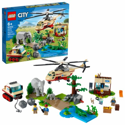 LEGO® Wildlife Rescue Operation Perspective: front