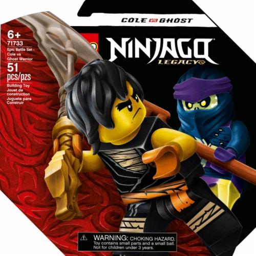 71733 LEGO® Epic Battle Set - Cole vs. Ghost Warrior Perspective: front