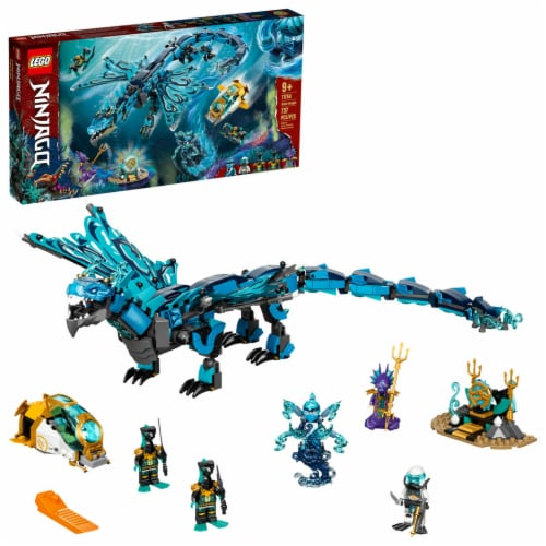 LEGO® Ninjago Water Dragon Perspective: front