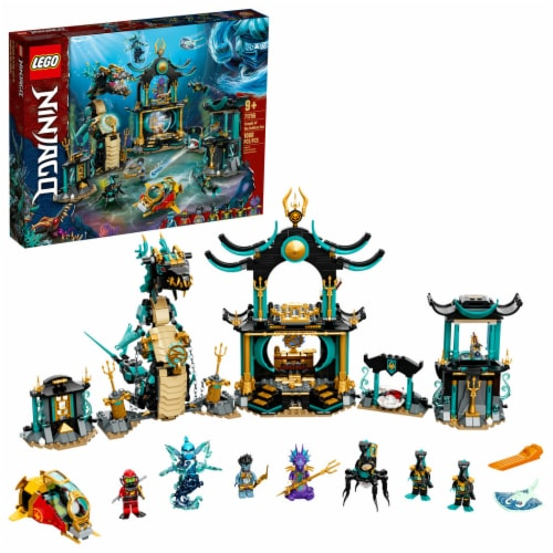 LEGO® Ninjago Temple of the Endless Sea Perspective: front