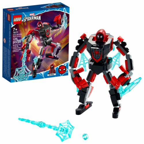 76171 LEGO® Marvel Spiderman Mile Morales Mech Armor Perspective: front