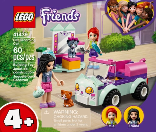 41439 LEGO® Friends Cat Grooming Car Building Set Perspective: front