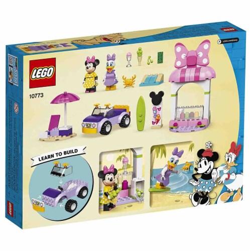 LEGO®  Disney Minnie Mouse's Ice Cream Shop Building Set 10773 Perspective: front