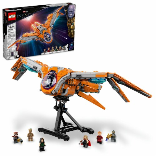 LEGO® The Infinity Saga the Guardians' Ship Perspective: front
