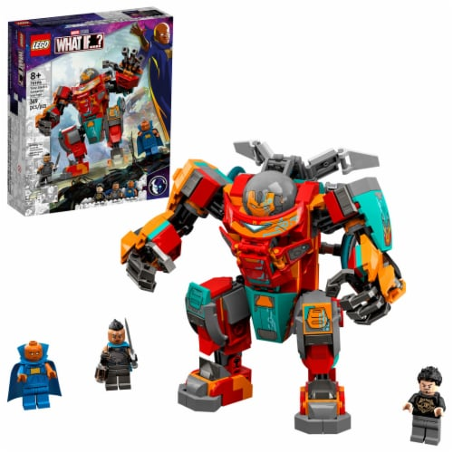 LEGO® Marvel What If? Tony Stark's Iron Man Building Set Perspective: front