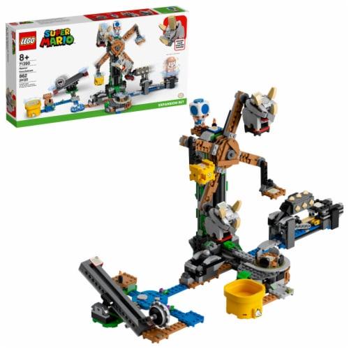 LEGO® Super Mario Reznor Knockdown Perspective: front