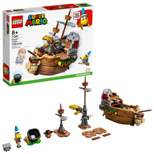 LEGO® Super Mario Bowser's Airship Perspective: front