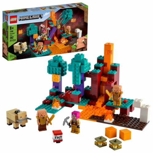 LEGO® Minecraft The Warped Forest Perspective: front