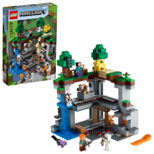 21169 LEGO® Minecraft The First Adventure V39 Perspective: front