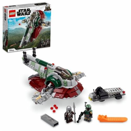 LEGO® Star Wars Boba Fett's Starship Building Set Perspective: front