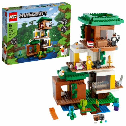 LEGO® Minecraft The Modern Treehouse Perspective: front