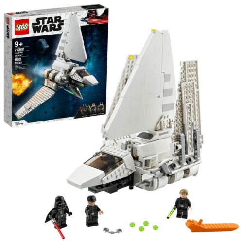 LEGO® Star Wars Imperial Shuttle Building Set 75302 Perspective: front