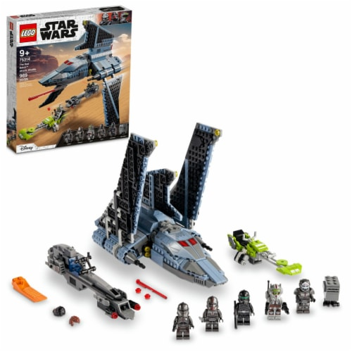 LEGO® Star Wars The Bad Batch Attack Shuttle Perspective: front