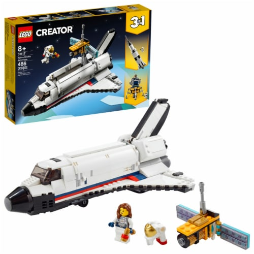 LEGO® Creator Space Shuttle Adventure Perspective: front