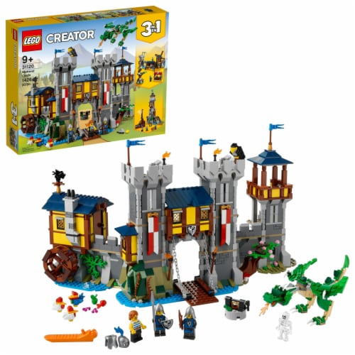 LEGO® Creator Medieval Castle Perspective: front
