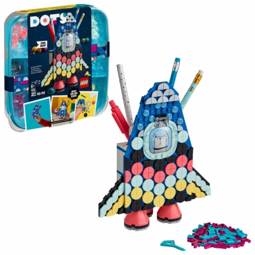 LEGO® DOTS Pencil Holder Perspective: front
