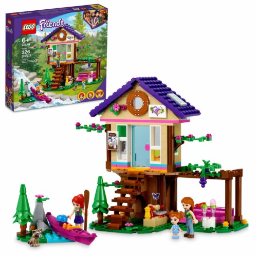 LEGO® Friends Forest House Perspective: front